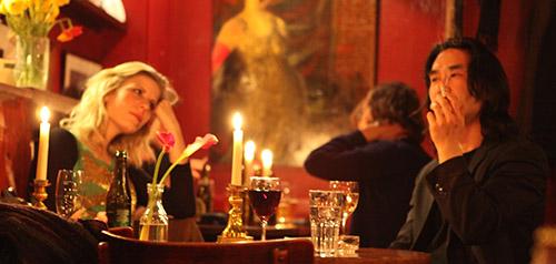 Jakob Park og Michelle Djarling i Café Intime