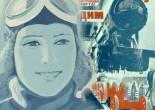 Dagny - kollage lavet af Sovjetiske plakater