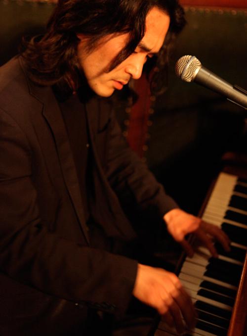 Jakob Park ved klaveret
