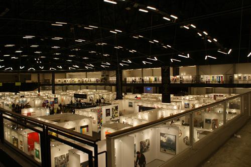 udsigt over Art Copenhagen kustmesse 2008