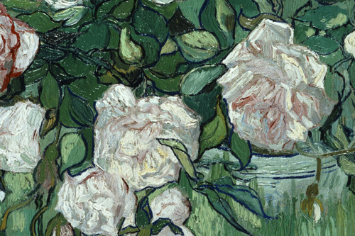 Vincent van Gogh, roser, udsnit